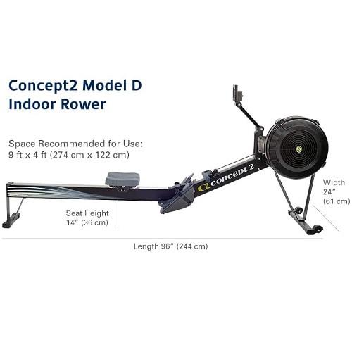 Concept 2 Remo Indoor Modelo D Negro