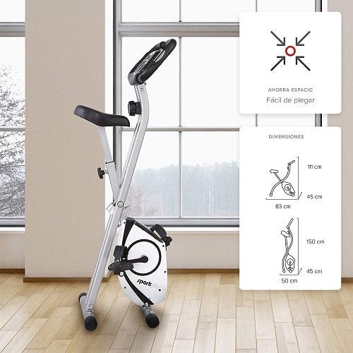 SportPlus Heimtrainer S-Bike - fitness