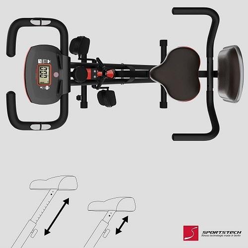 Sportstech F-Bike X100-B Plegable