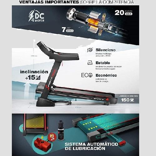 Sportstech F37 Profesional - 7hp y 20 km/h.