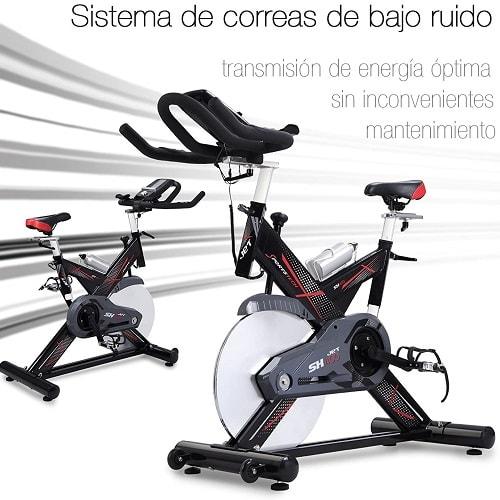 Sportstech SX400 Bicicleta de spinning Profesional