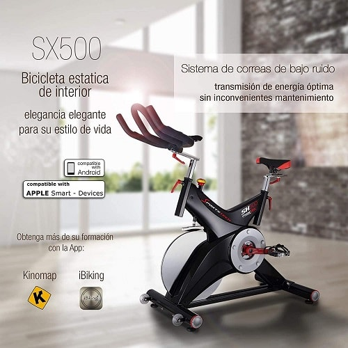 Sportstech SX500 Bicicleta de spinning Profesional