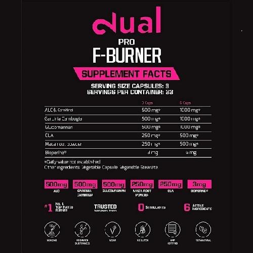 DUAL Pro Fat Burner 2