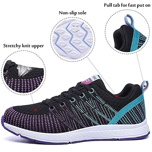 Pamray Zapatillas de Deportes de Running para Mujer