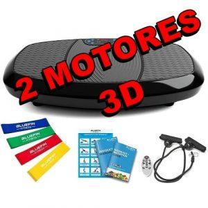 Plataforma Vibratoria 3D con Doble Motor Bluefin Fitness