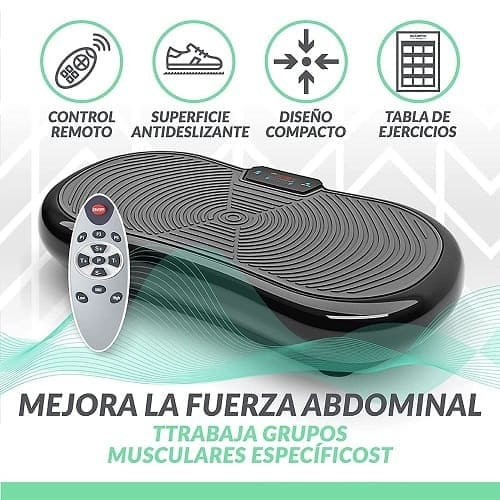 Plataforma Vibratoria Bluefin Fitness Ultra Slim